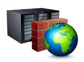 Firewall pare-feu / concept protection informatique